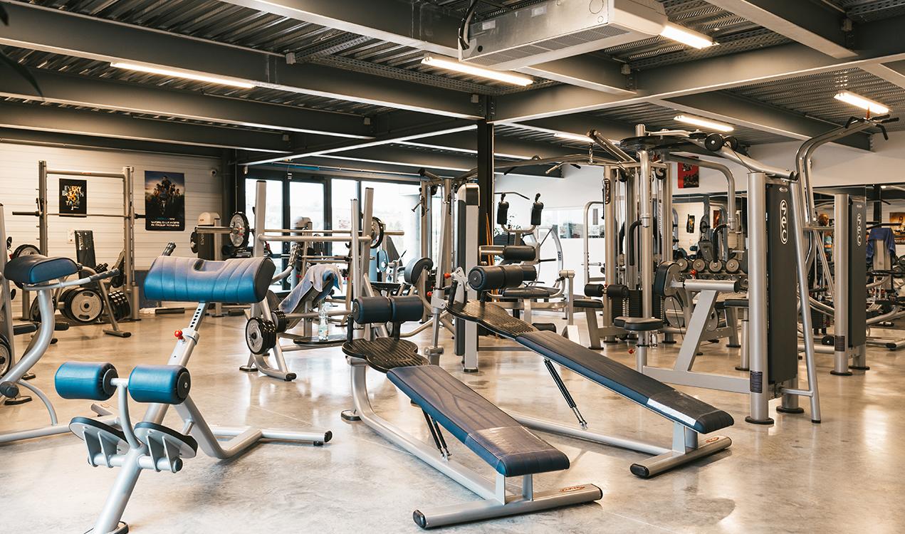 Plateau de musculation - Oxygène Fitness Club à Saint-Macaire - Salle de sport et de fitness